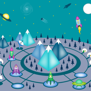 Space Base Mountain