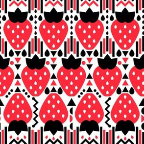 Strawberry Pop Pattern