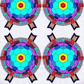Cody's Art: Cartoonized Shield, Ver. 3