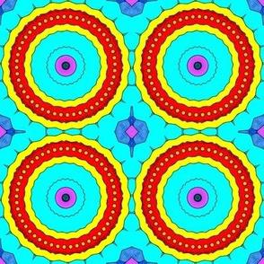 Cody's Art: Cartoonized Kaleidoscope, Lg. Scale, Ver. 2