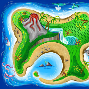 Adventure Island Playmat
