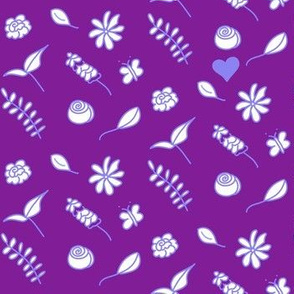 Love Among The Flowers - Violet