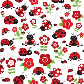 Happy Ladybugs