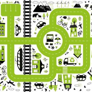 eco city playmat