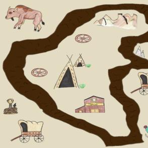 Oregon Trail Adventure Playmat