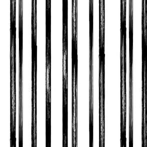 Black and white stripe - coordinate - LAD19