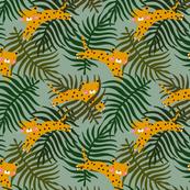 Green Jungle leopard safari