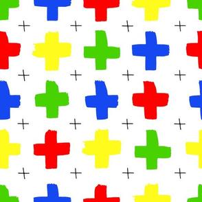 Bright crosses