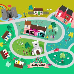 Jollyville playmat