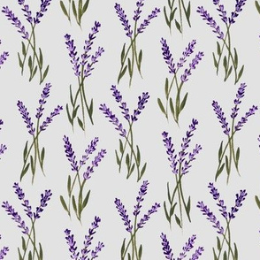 lavender bunches - grey