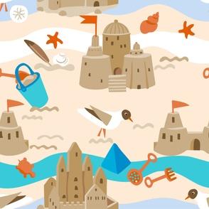 Sand castles - Playmat