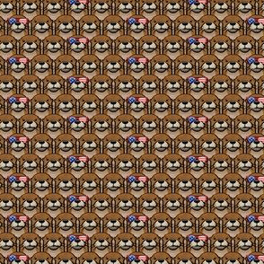 (micro scale) patriotic otter C19BS