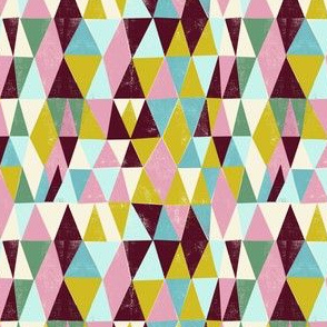fifties  happy triangles