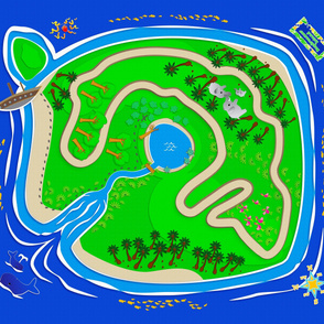 Daydreamer Island Play Mat