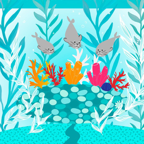 Coral Garden Playmat