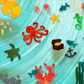Sea Life Playmat