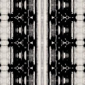 Black and White Paint Splotch
