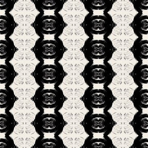 Black and White Ovals