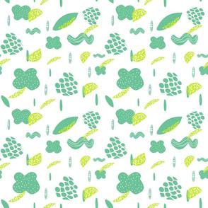 fruity cloud doodle