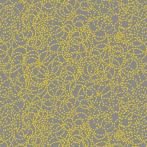 Bee Line Grey gold