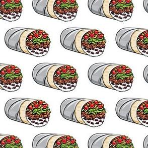burritos - white - tex-mex food  LAD19