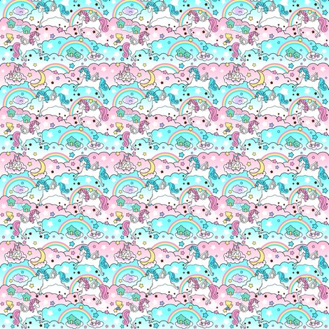 Rspoonflower-clouds-and-pega-unicorns_shop_preview