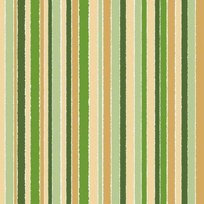 Stripes of Green Gold - vertical