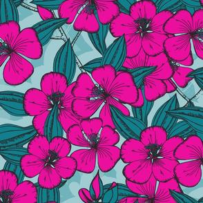 In Bloom Fuscia (LARGE)