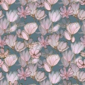 Pink Magnolias Medium