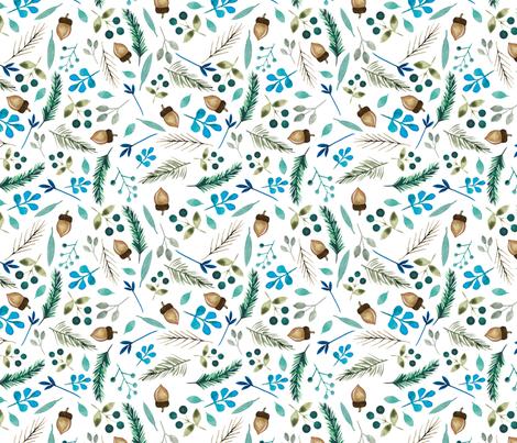 Norwegian wood wallpaper - poppydesign - Spoonflower