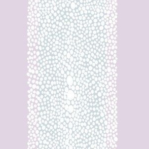 shagreen stripe custom lilac and ice blue