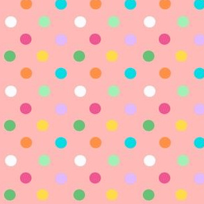 Polka dot birthday party