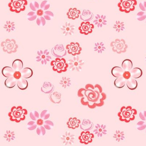 Floating Floral - Pearl