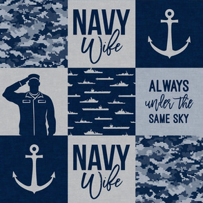 Navy Wife - Always under the same sky - navy  -  LAD19