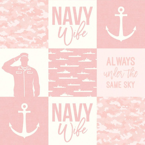 Navy Wife - Always under the same sky - pink -  LAD19