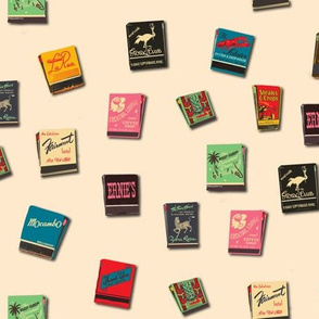 Matchbooks cream