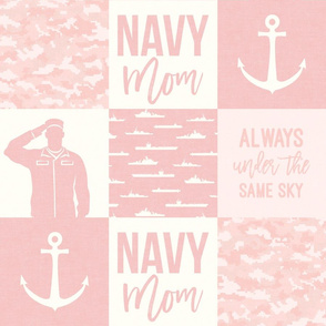 Navy Mom - always under the same sky - pink - LAD19