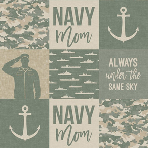 Navy Mom - always under the same sky - OG light - LAD19