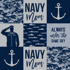 Navy Mom - always under the same sky - navy - LAD19