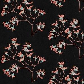 Blushing branches