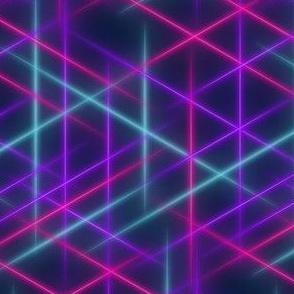 Neon beams-Multicolour
