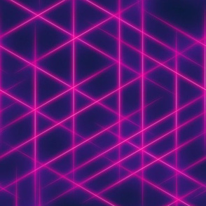 Neon beams-Pink