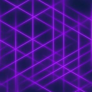 Neon beams-Purple