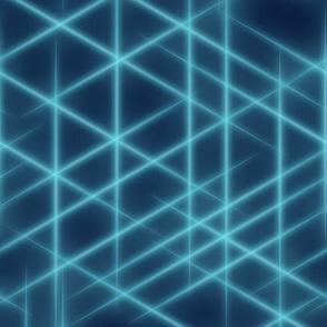 Neon beams-Blue