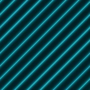 Neon diagonal stripe-Teal