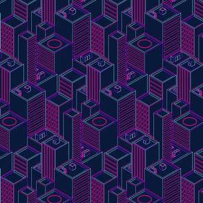 Neon city-Outline