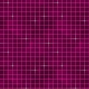 Neon grid-Pink
