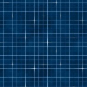 Neon grid-Blue