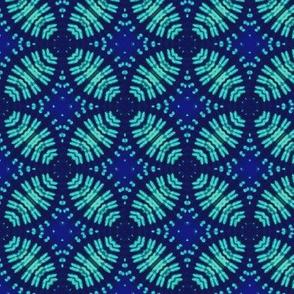 Blue & Turquoise Fluorescent Petals