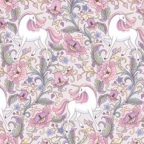 floral garden unicorn